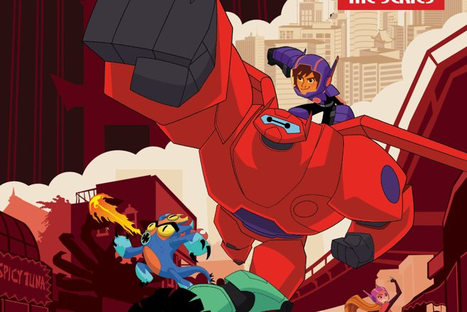 BIg Hero 6 comic encabezado