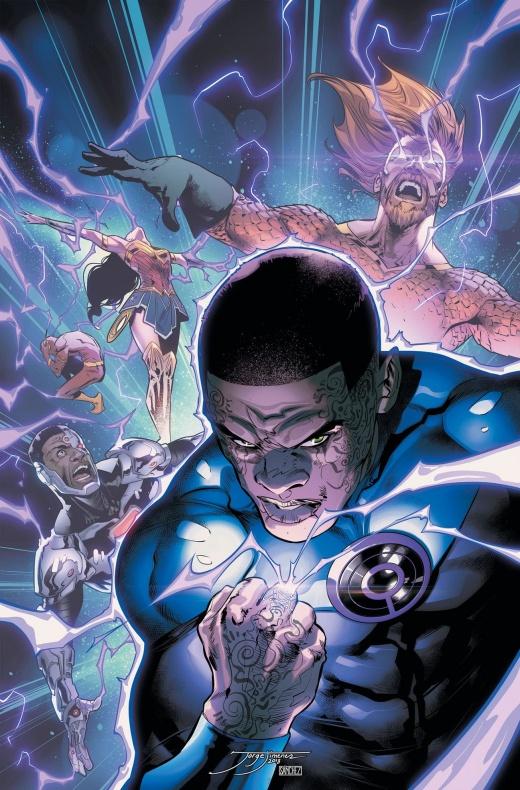 Justice league 3 stewart ultravioleta lantern