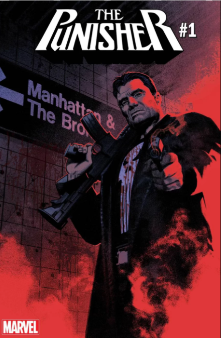 Punisher #1 portada