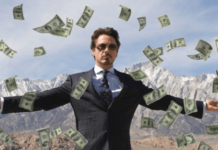 Robert Downey Jr money