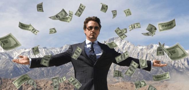 Robert Downey Jr money