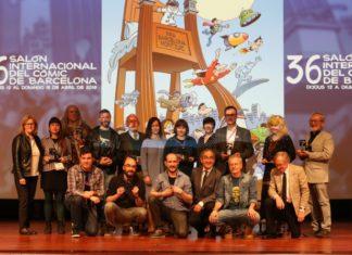 Salón Cómic Barcelona premios