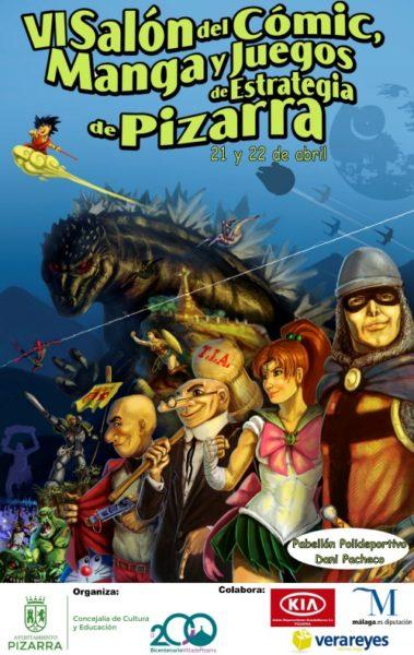 VI Salón del Cómic, Manga y Juegos de Estrategia de Pizarra (Málaga)