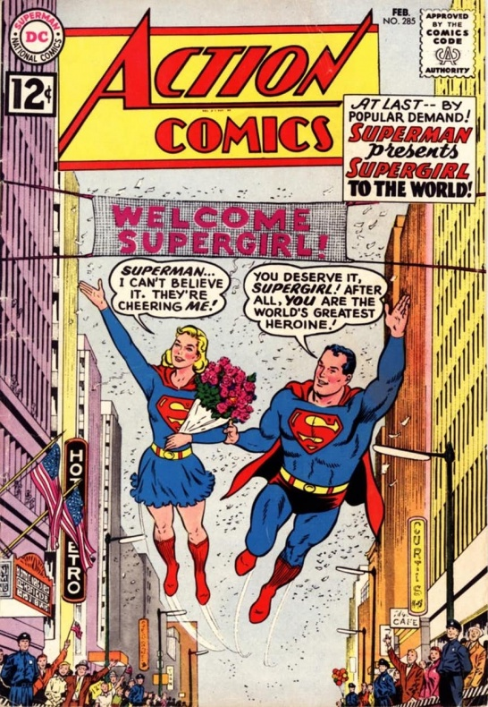 action comics 285
