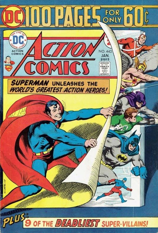 action comics 443