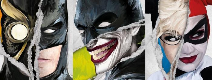 dc batman joker harley