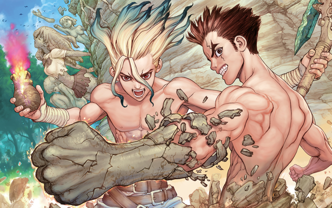 dr.stone 0