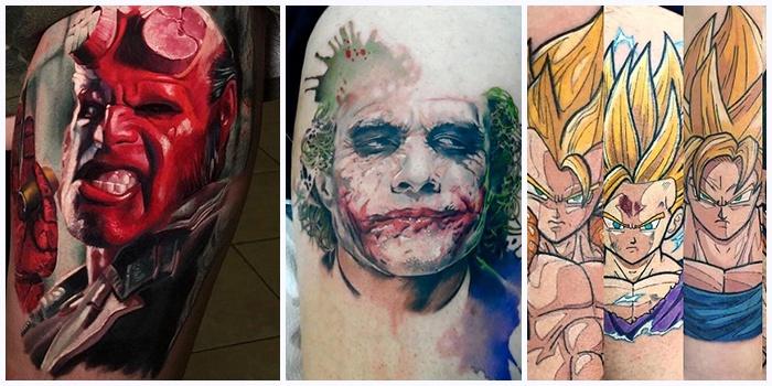 tatuajes comic