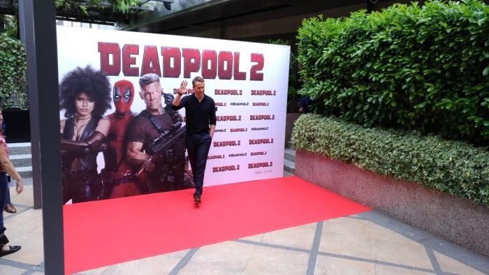Deadpool promoción