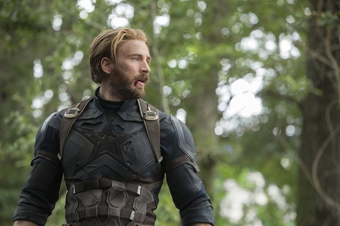 Capitan America en infinity war