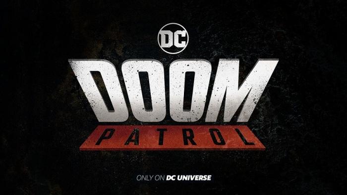 Doom Patrol logo serie DC Universe