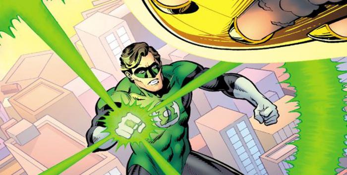 Green Lantern Destacada