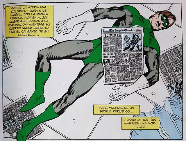 Green Lantern Viñeta