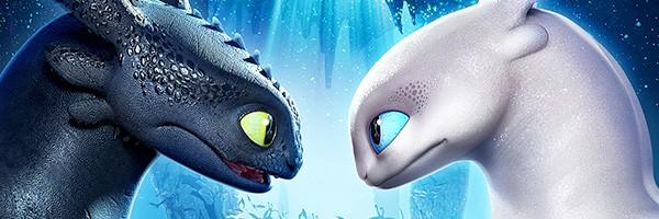 Poster Como entrenar a tu dragon 3 encabezado