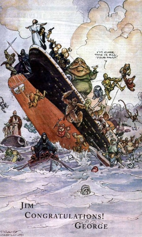 Titanic supera a Star Wars