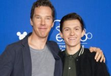 Tom holland y benedict Cumberbatch
