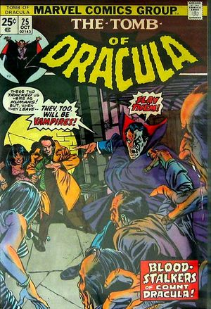 Tomb of Dracula v.1 25