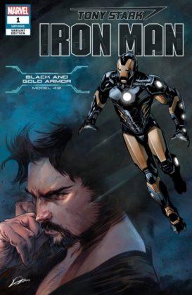 Tony Stark Iron Man BlackGold
