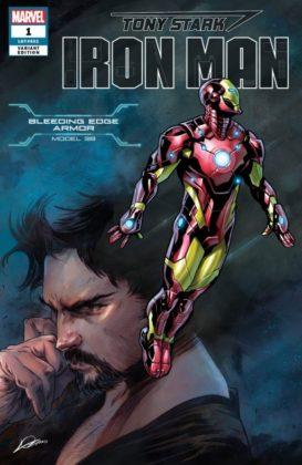 Tony Stark Iron Man BleedingEdge
