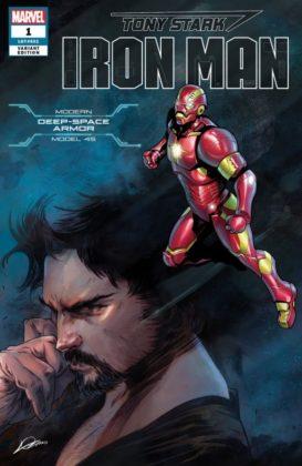 Tony Stark Iron Man Deep Space
