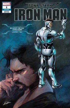 Tony Stark Iron Man Endo Sym