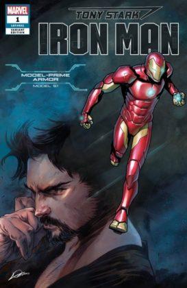 Tony Stark Iron Man Model Prime