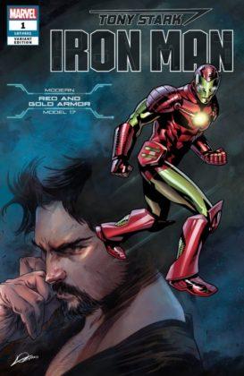 Tony Stark Iron Man ModernRedGold