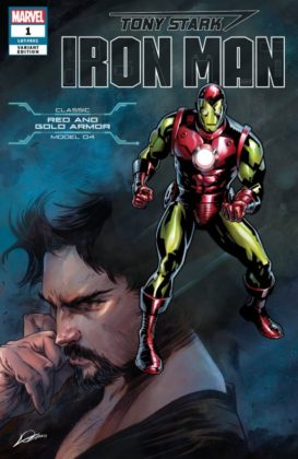 Tony Stark Iron Man RedGold