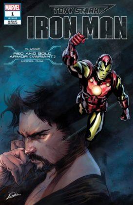 Tony Stark Iron Man RedGoldVariant