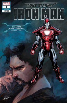 Tony Stark Iron Man SilverCenturion
