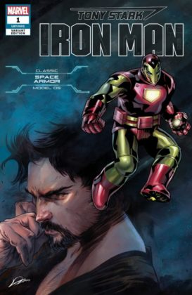 Tony Stark Iron Man SpaceArmor
