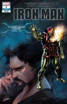 Tony Stark Iron Man Thorbuster