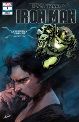 Tony Stark Iron Man UnderseaArmor