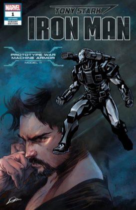 Tony Stark Iron Man WarMachine
