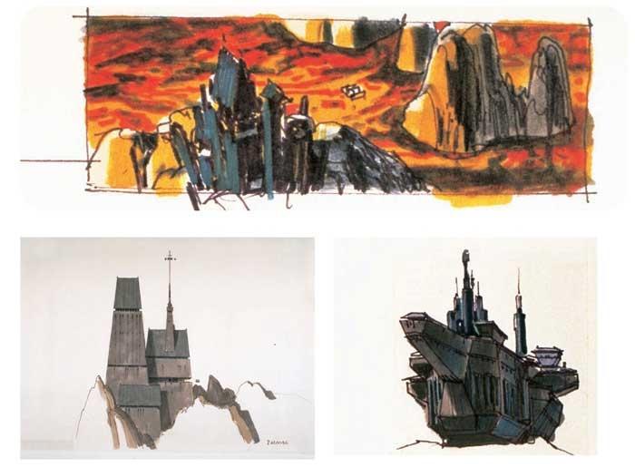 Vader castillo concept art