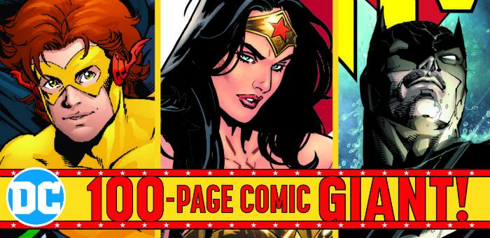 100-Page Giant DC Comics - Wallmart