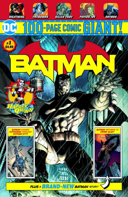 Batman Giant #1 - DC Walmart
