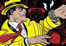 Dick Tracy Dead or Alive cabecera