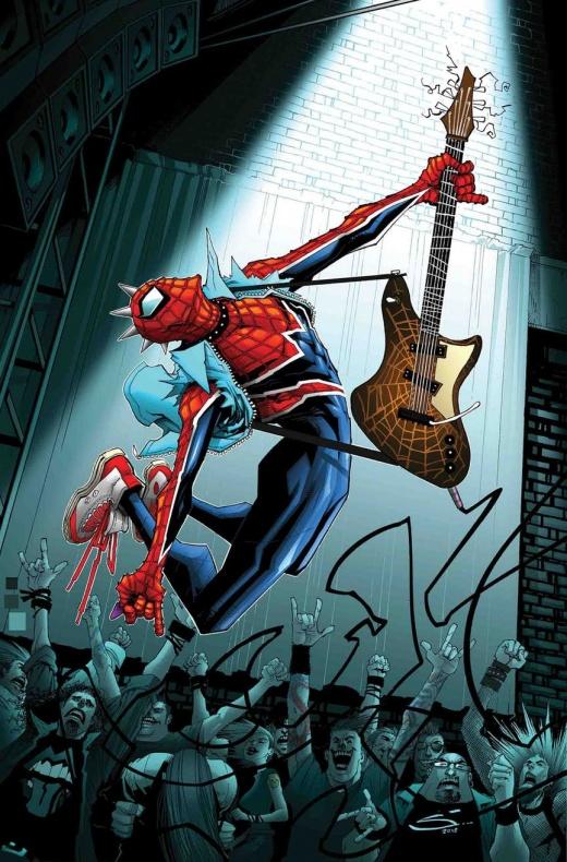 Edge os Spider-Geddon 1