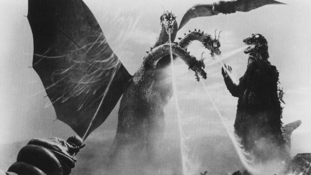 Godzilla monstruos