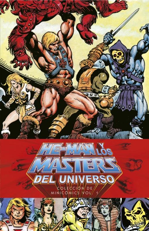 Los minicómics de He-Man
