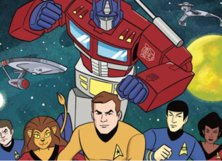 Star Trek Vs Transformers encabezado