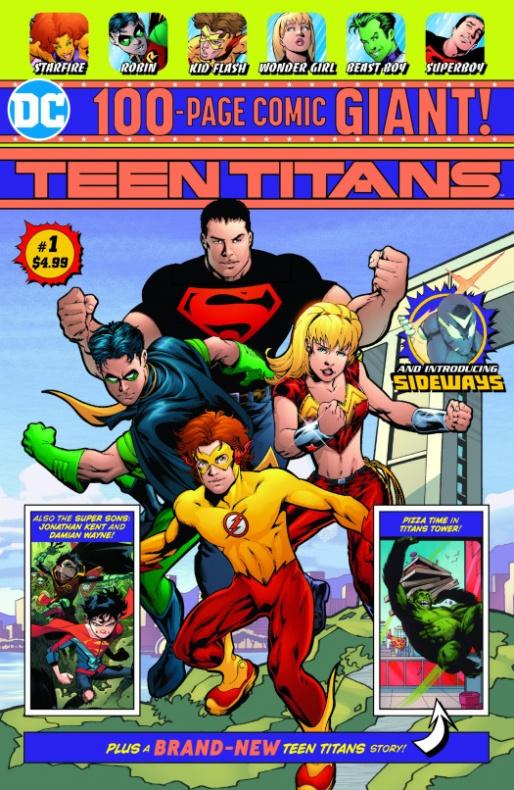 Teen Titans Giant #1 - DC Walmart