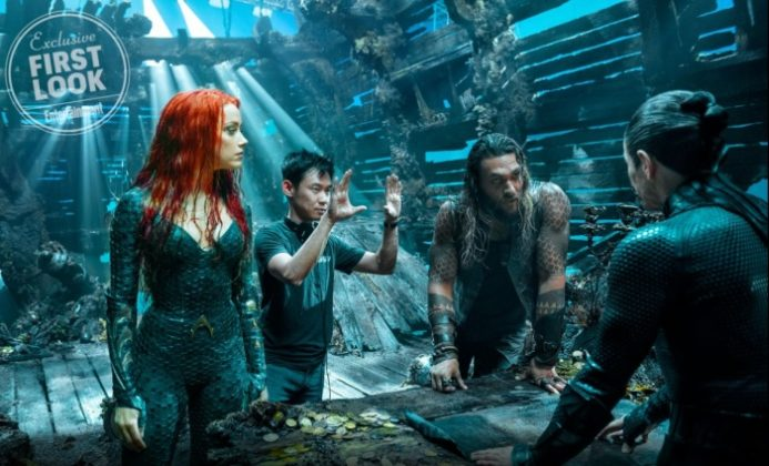James Wan aquaman mera vulko