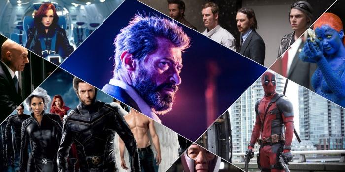 collage películas X-Men