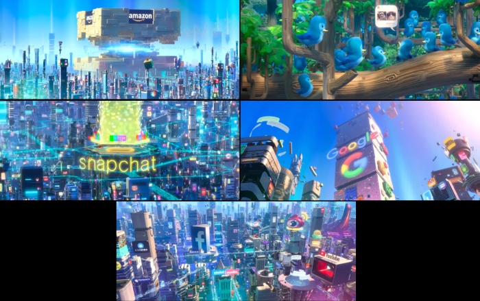rompe ralph 2 redes sociales