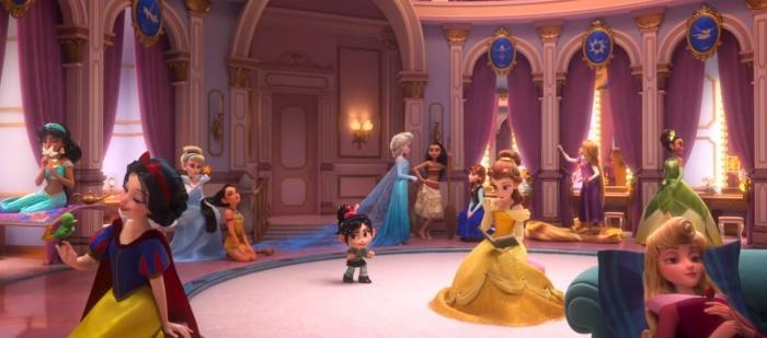 rompe ralph princesas disney