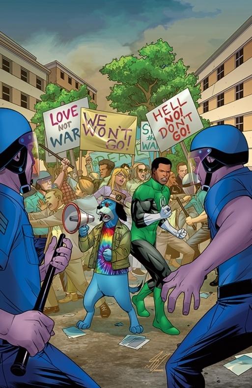 Green Lantern Huckleberry Hound