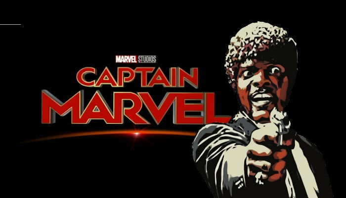 Captain Marvel- Samuel L Jackson- Pulp Fiction