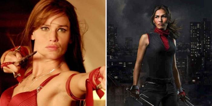 Jennifer Garner and Elodie Yung as Elektra
